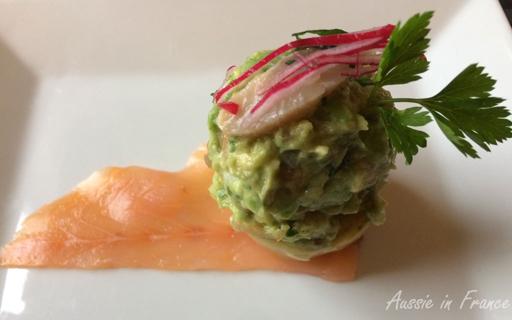 The artichoke and guacamole snail