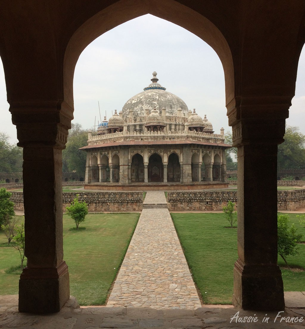 The tomb of Isa Khan Niyazi currently being restored