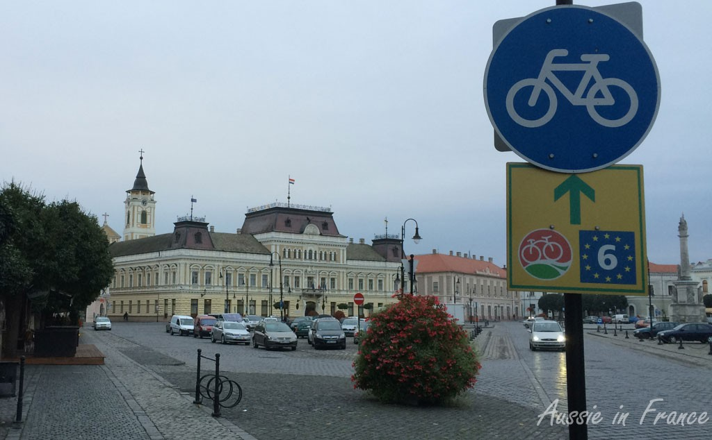 The Eurovelo 6 bike route