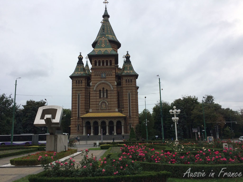 The Cathedral in Timisoara