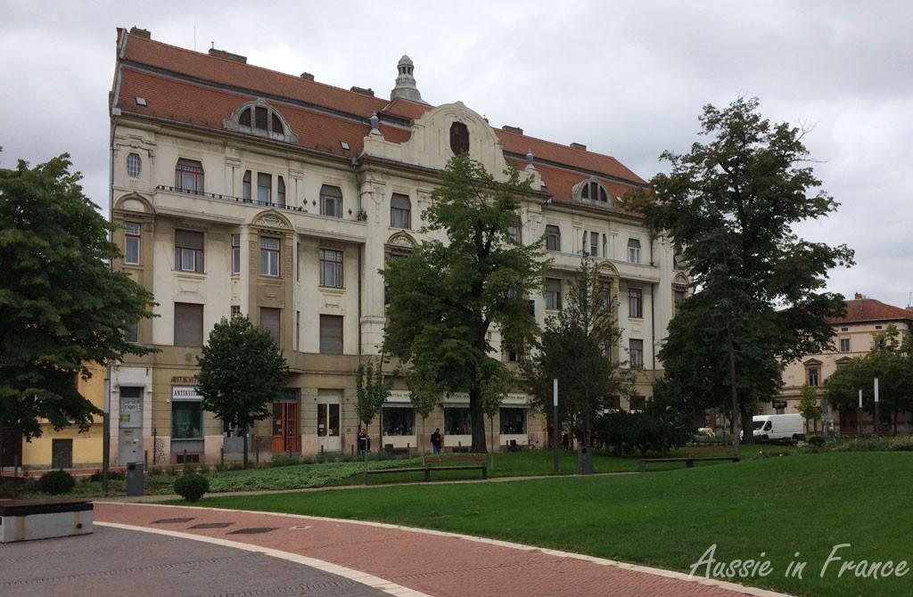 Another attractive art nouveau building
