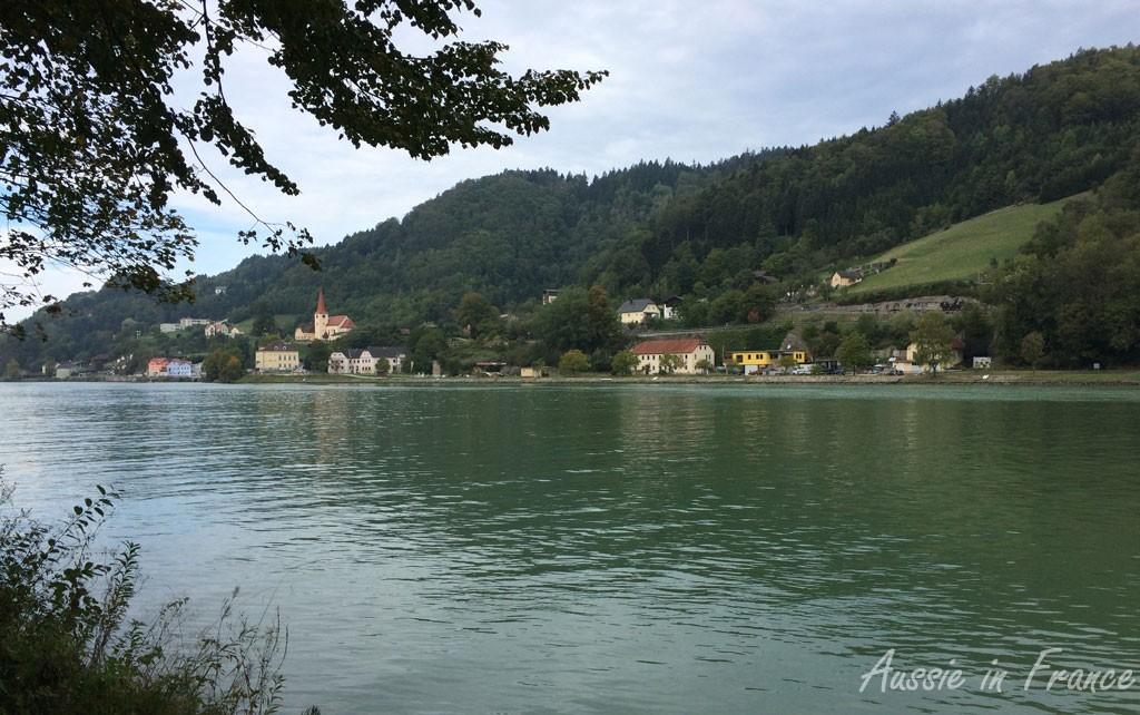 The Danube from the bike path