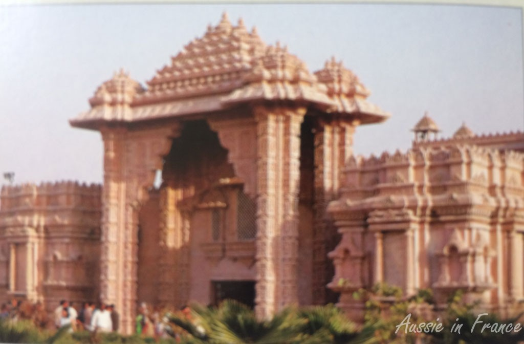 The Temple (photo from a brochure)