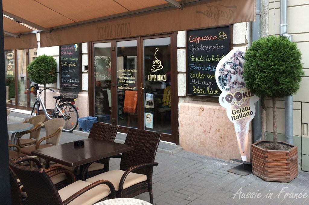 Our cappuccino café