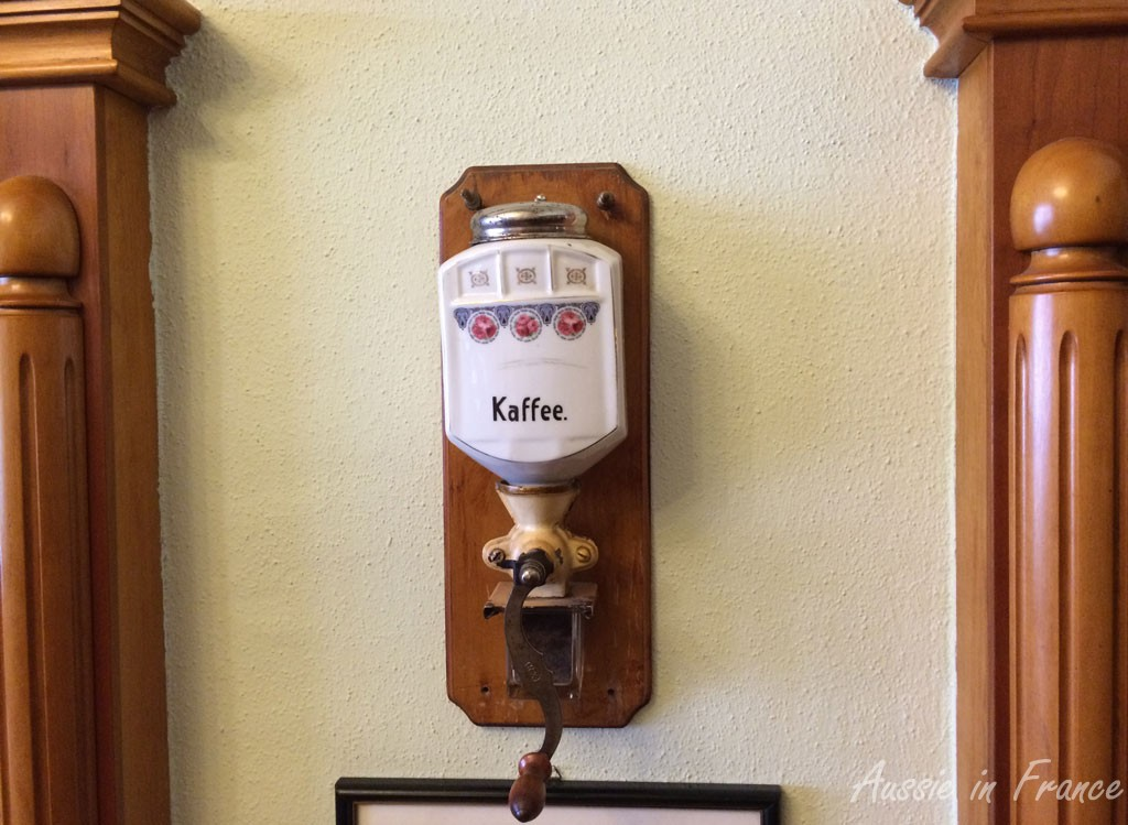 An unusual coffee grinder