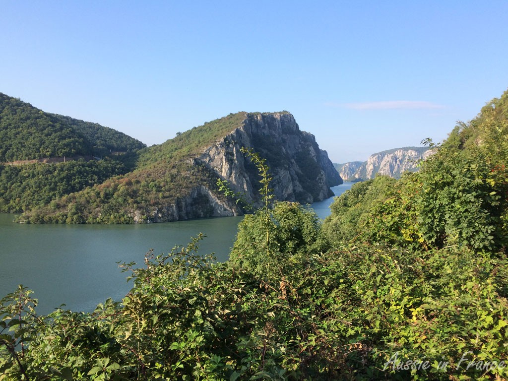 The narrowest part of the gorges