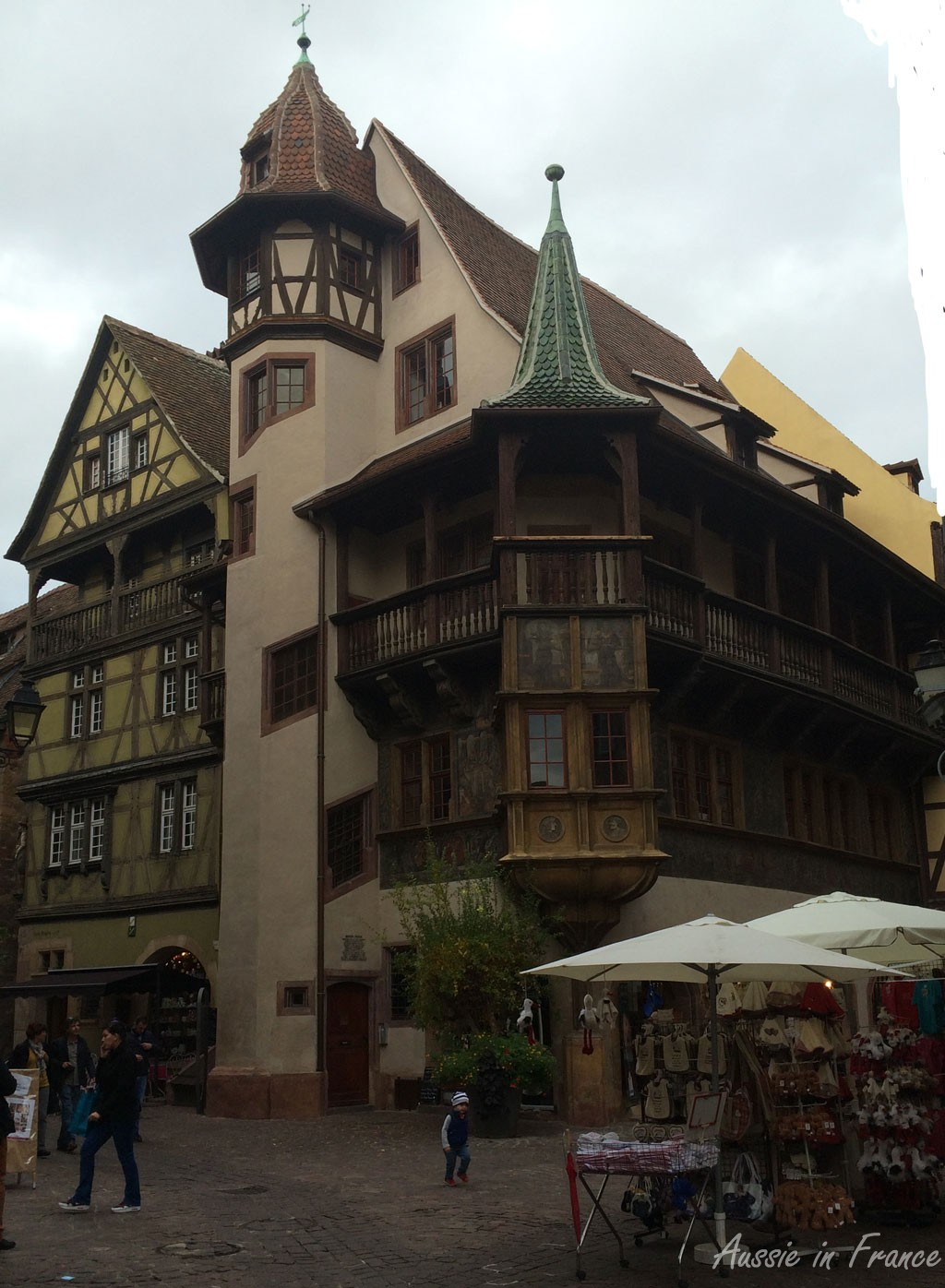 Pfister House built in 1537, probably the best-known monument in Colmar