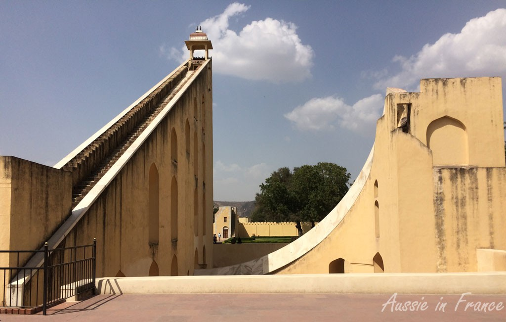 The largest sundial in the world at Jantar Mantar, Jaipur