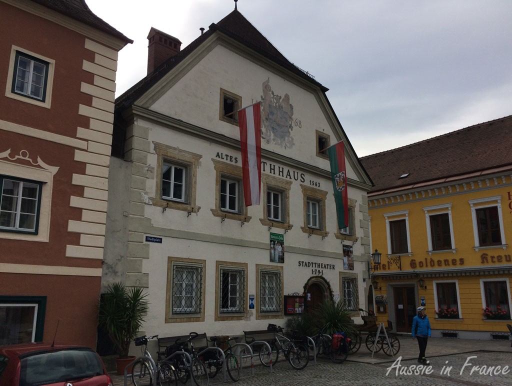 Austria's oldest theatre, built in 1791 in the former granary of the town hall built in 1563