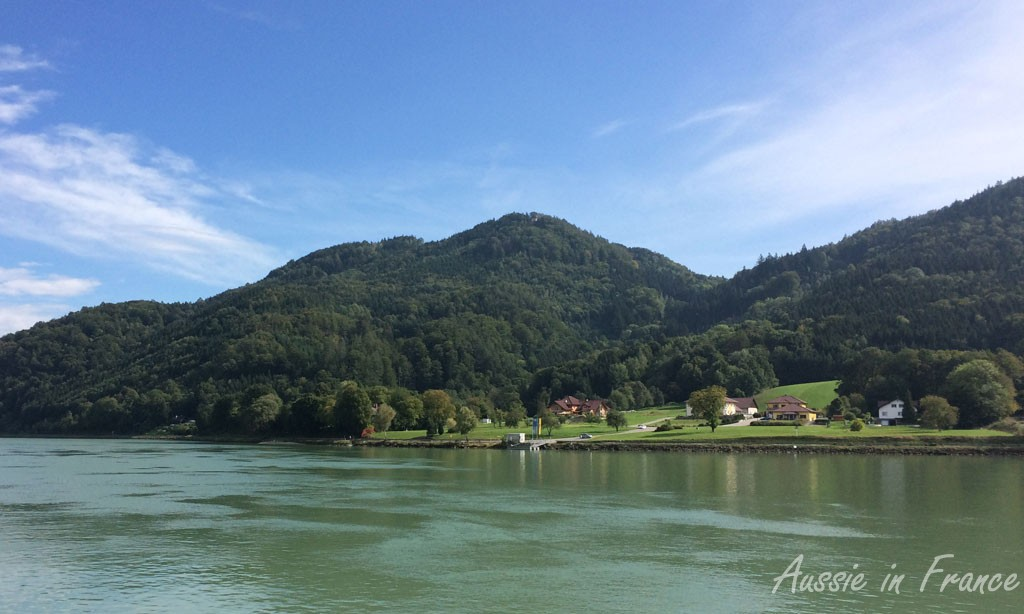 The Danube on the way back