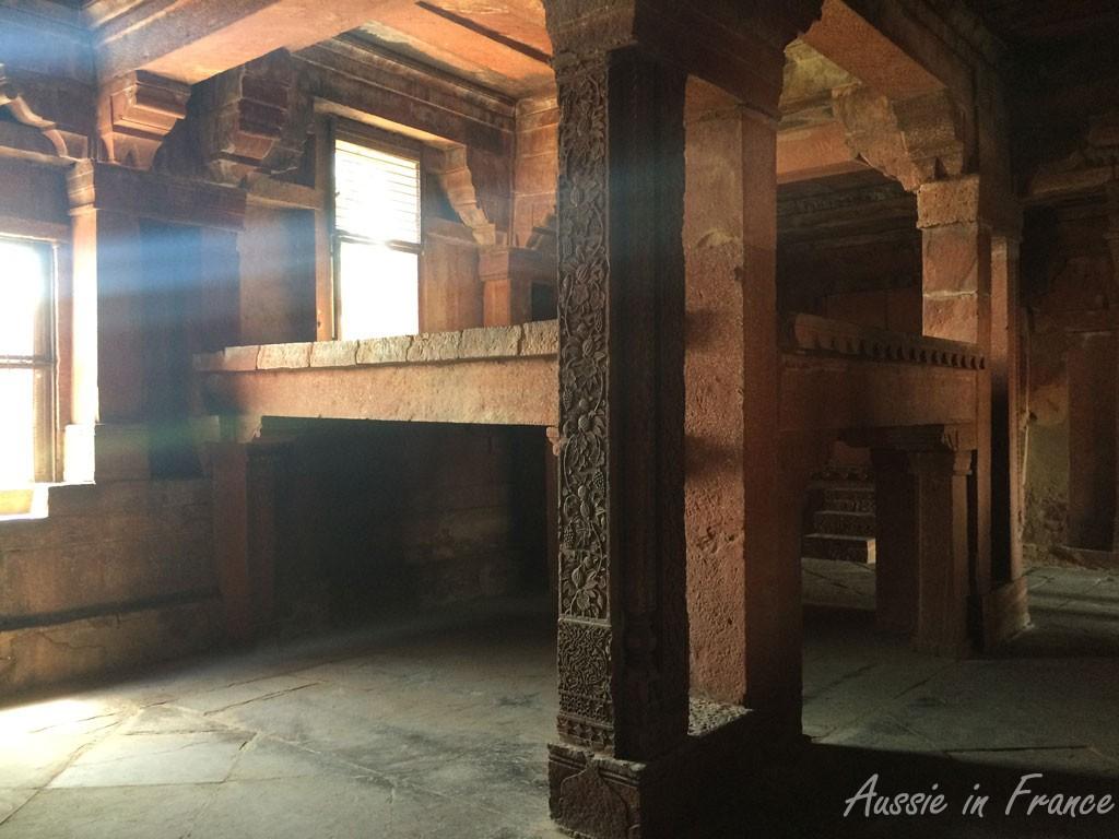 Akbar's stone bed