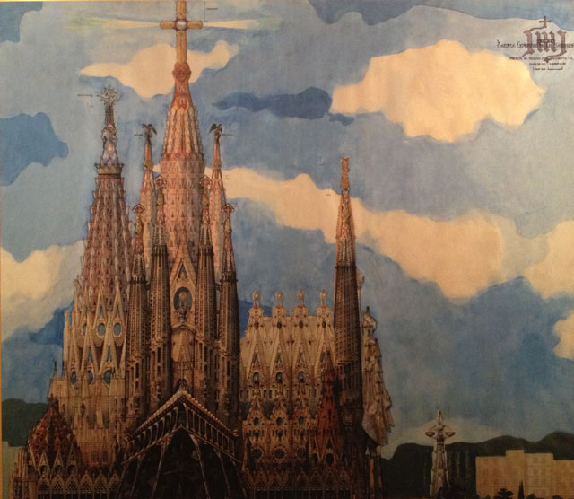 Conceptua design of the Sagrada Familia