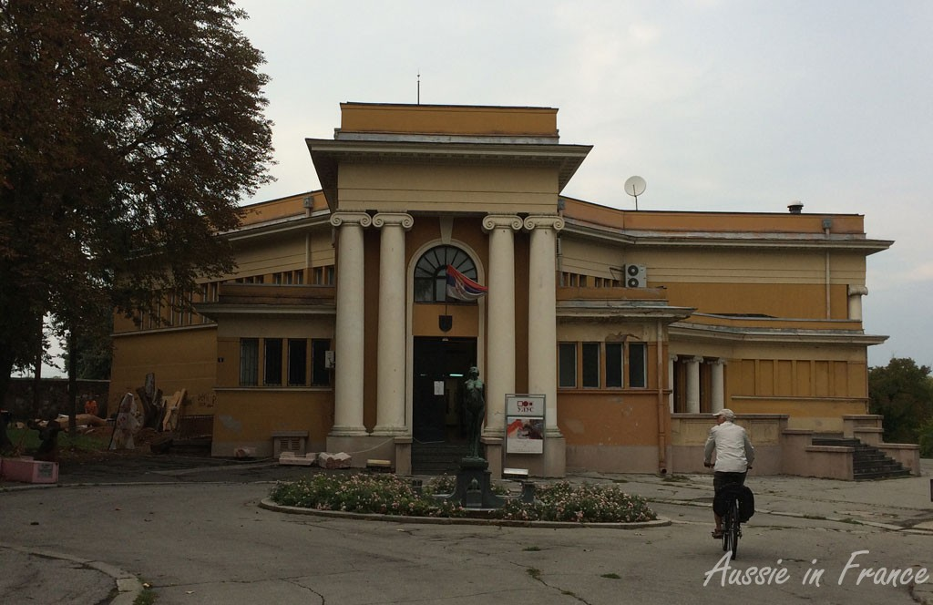 The museum in the fortress park