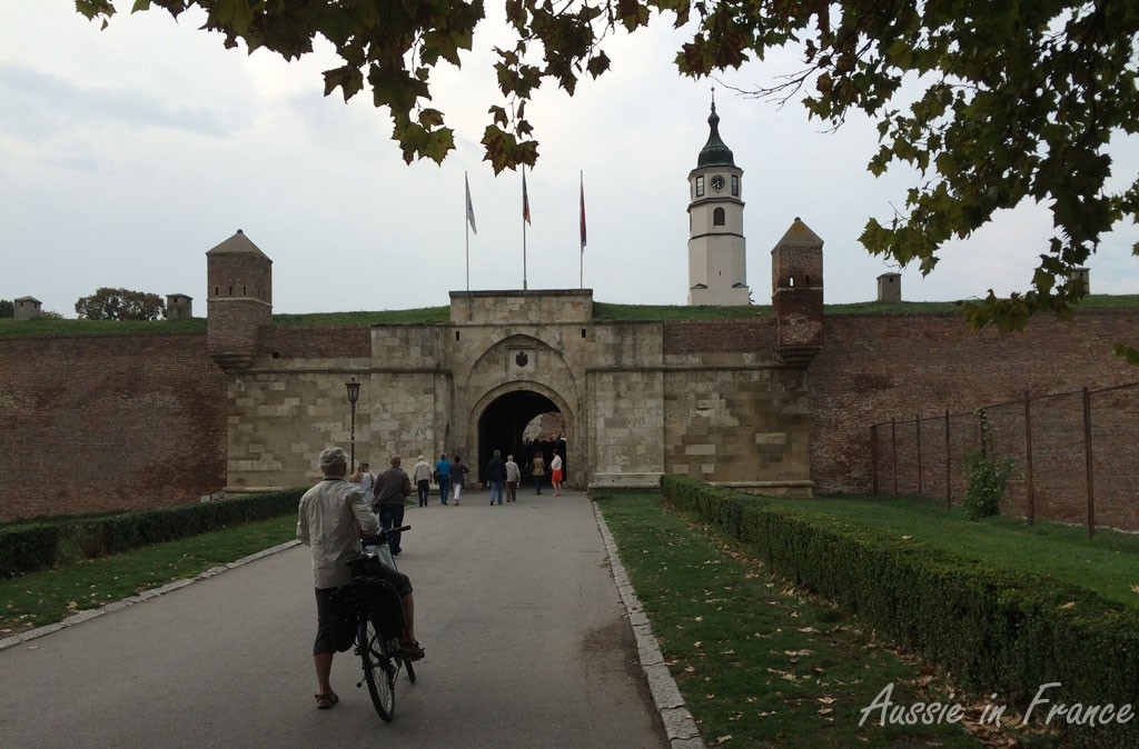 Belgrade Fortress, built in the14th century and reconstructed in the 18th century