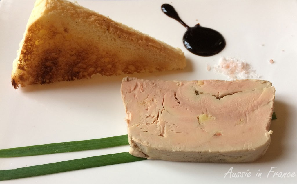 Chef's foie gras