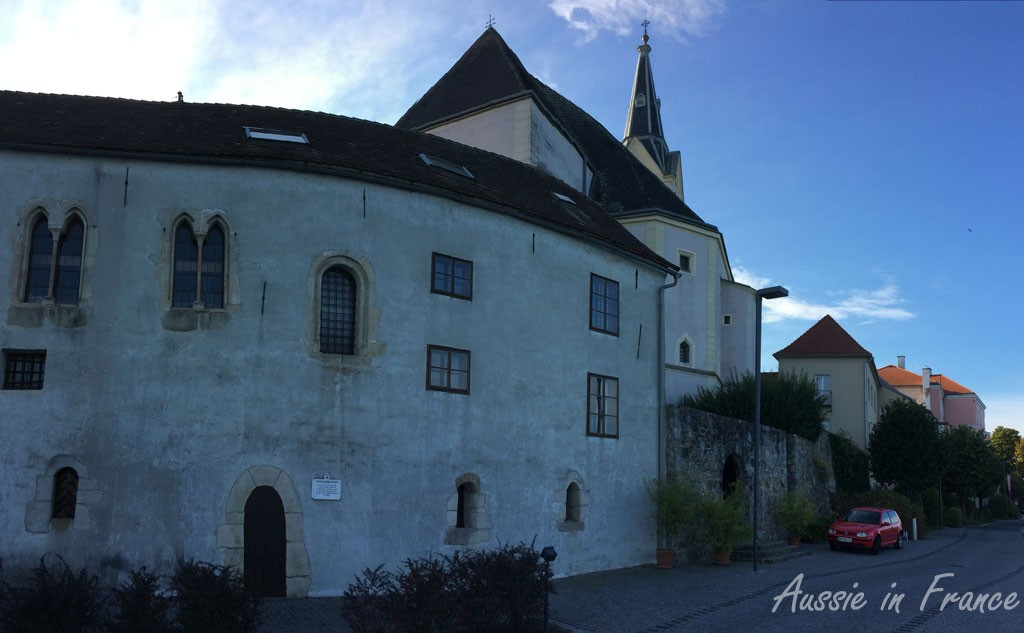 The mediaeval building in Ybbs