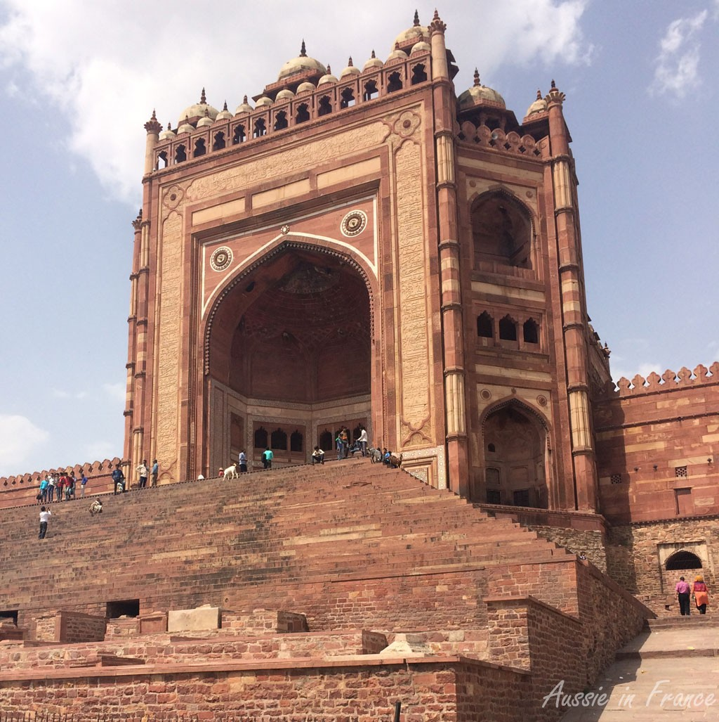 Buland Darwaza, the 54 m high entrance to the Fatehpur Sikri complex