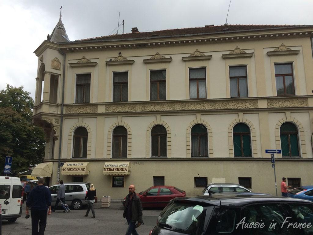 An Austro-Hungarian building in Zemun