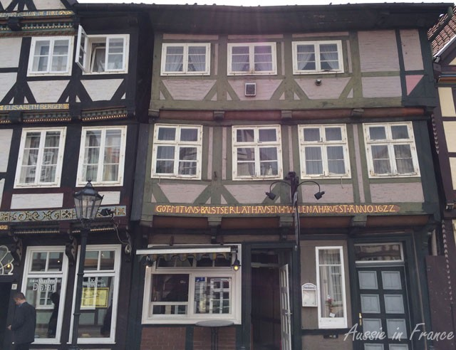 House in Celle built in 1622