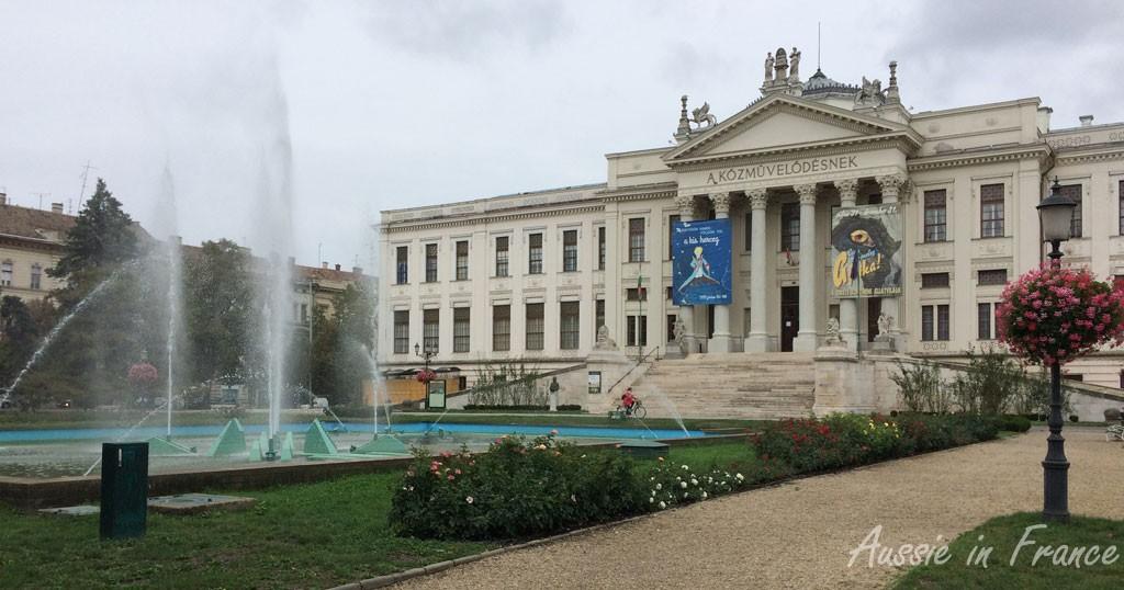 The neoclassic culture museum built in 1896