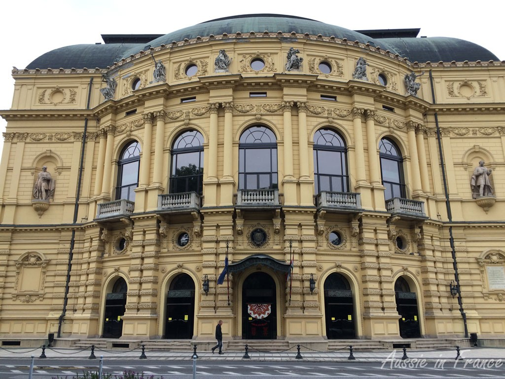 The neo-baroque opera house built in 1893
