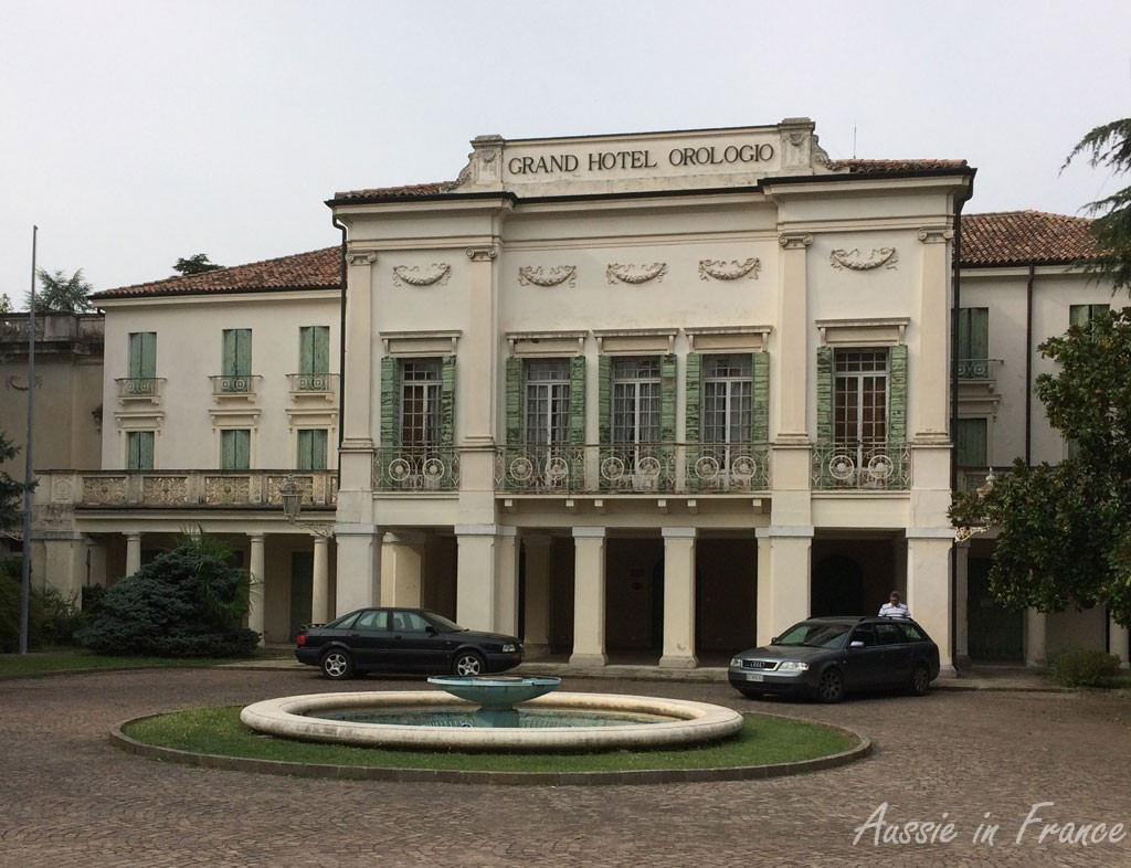 Building of Austrian influence in Abano Terme