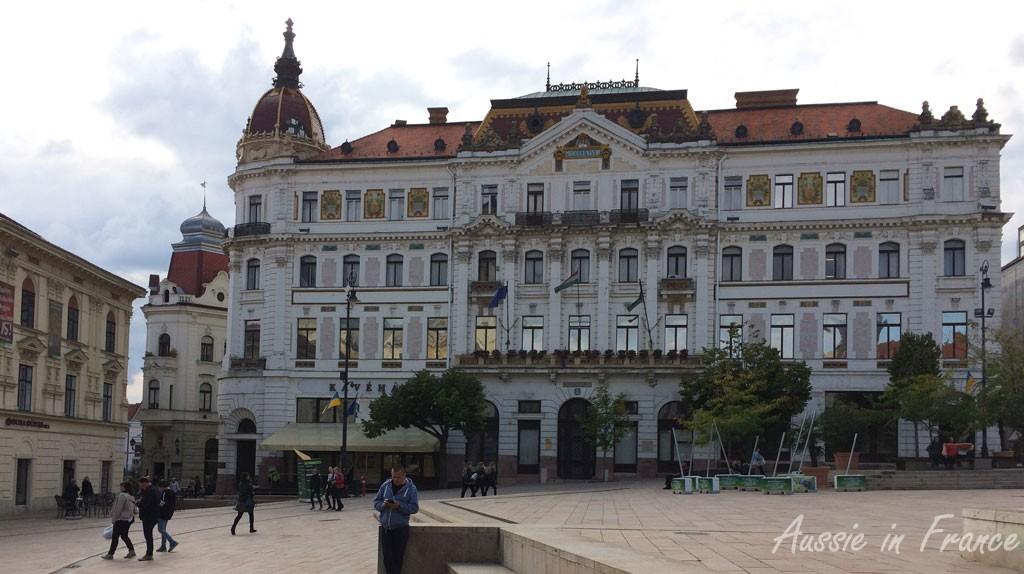 The main square in Pecs