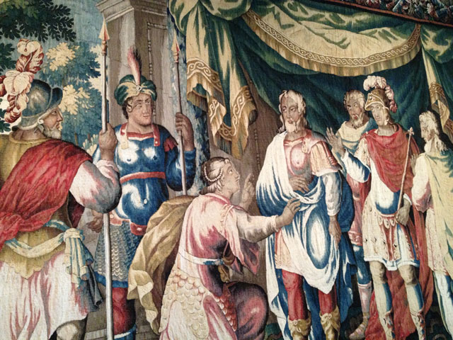 Tapisserie de la Reconnaissance: Joan of Arc recognises the Dauphin Charles
