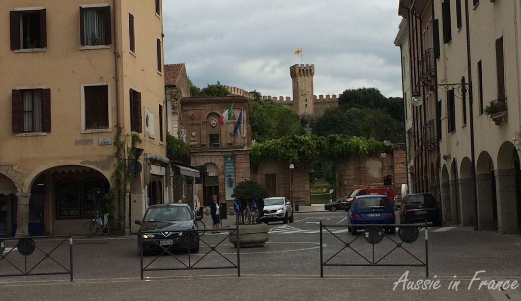 The castle in Este