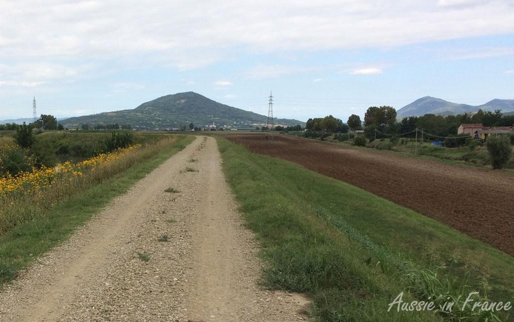 The easy gravel path