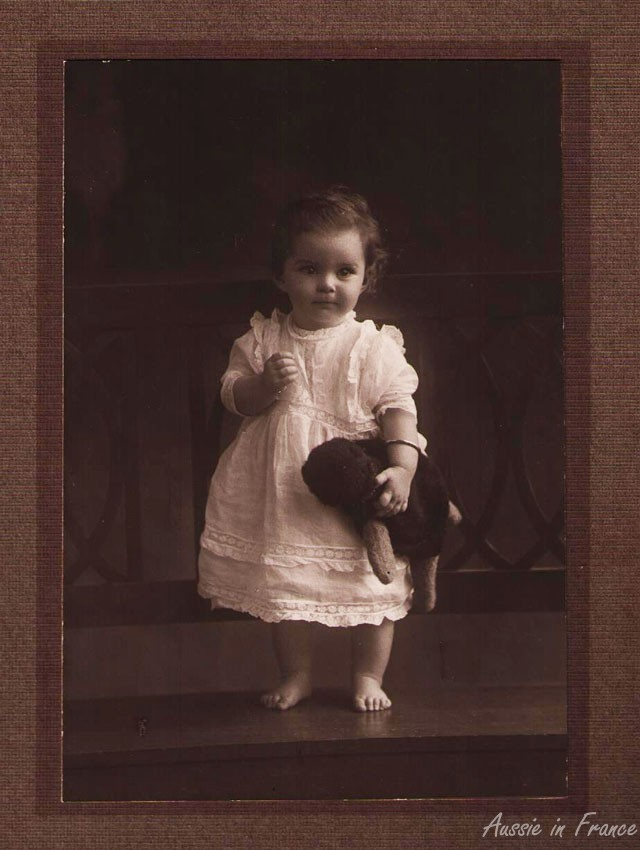 Earliest photo of my mother