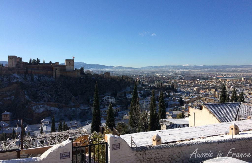 The Alhambra after snow