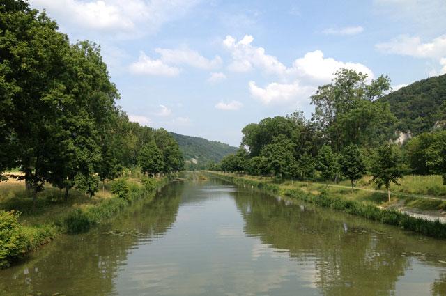 The Altmuhle between Essing and Kelheim