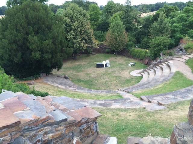 The Roman amphitheatre where the Prince held concerts