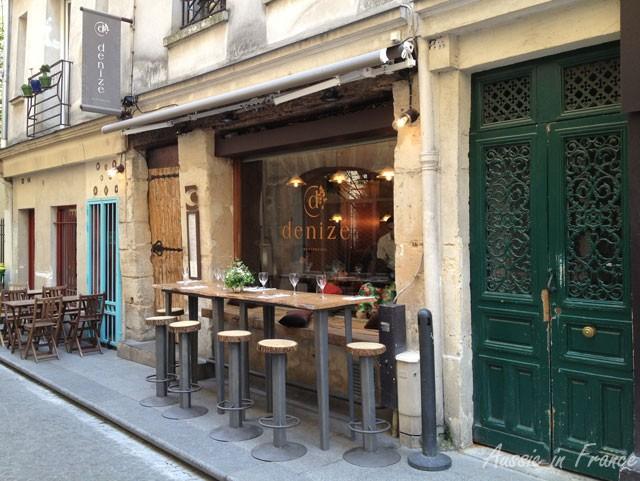 Un autre restaurant dans la rue Montorgueil qui a l'air terrible