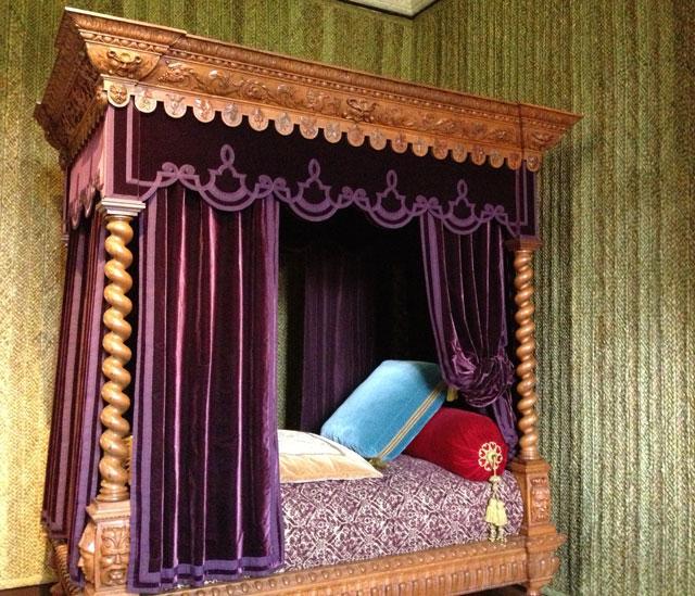 Philippe Lehazy's Renaissance bedroom in Azay-le-Rideau
