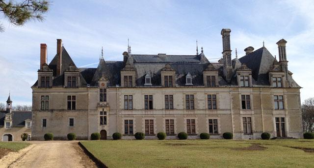Avec toutes ces fenêtres, le château de Beauregard est très vitré