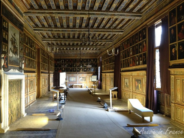 Grand Gallery with its 327 historical portraits