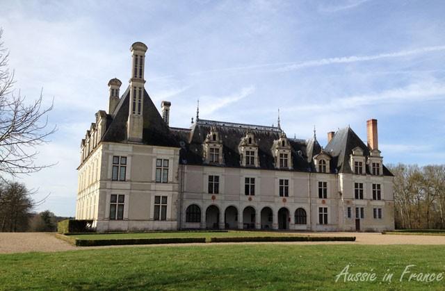 The majestic rear façade