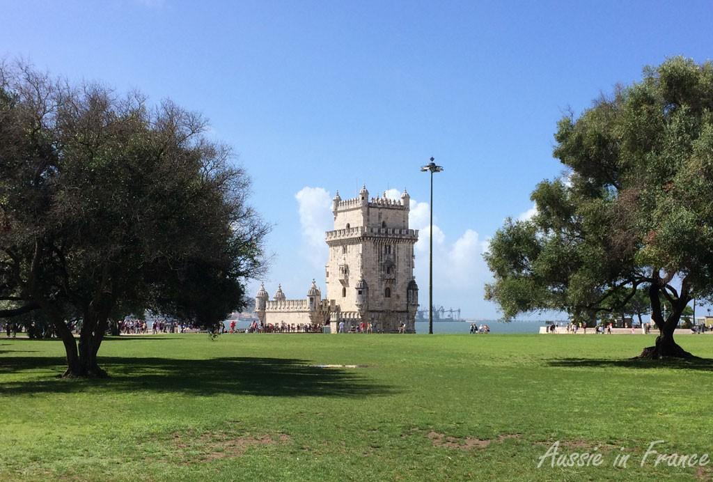 Belem Tower from a distance