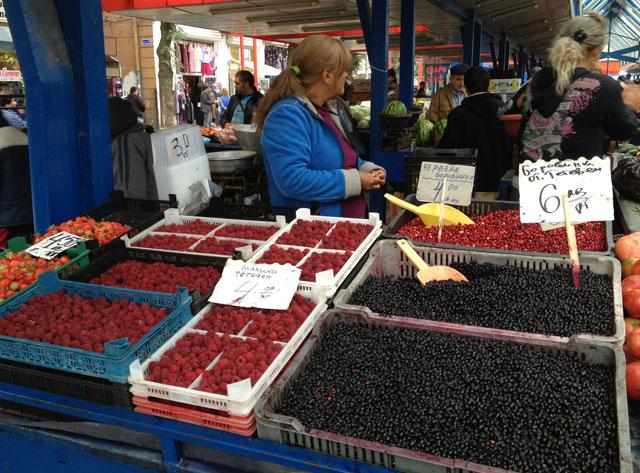 Berries at the Ladies' market