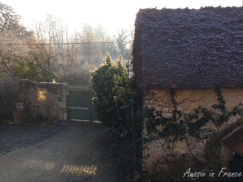 Pale skies on leaving Blois