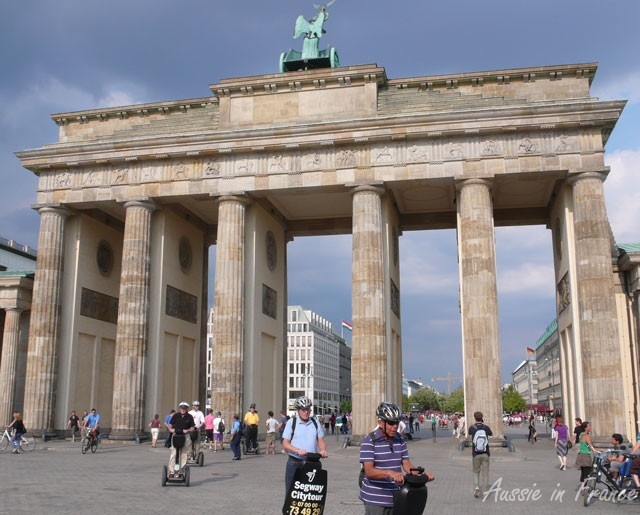 The Brandenburg Gate is the trademark of Berlin. The main entrance to the city, surrounded by the wall for thirty years, was known throughout the world as a symbol for the division of the city and for the division of the world into two power blocs.