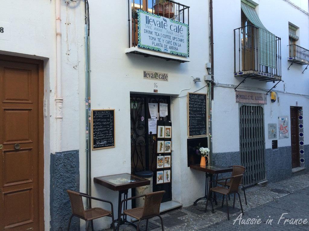 The wonderful breakfast café at Plaza Larga in the Albaicin we found on the last day!