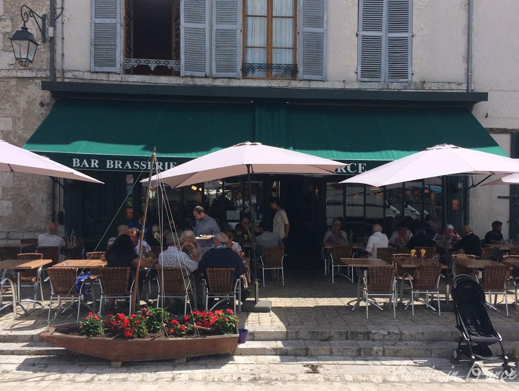 Lunch at the Café du Commerce