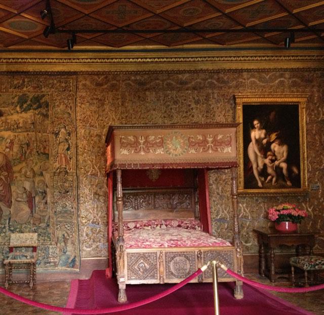 Catherine de Medicis' Bedroom