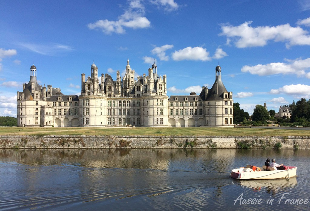 There is free entrance to the grounds of Chambord all year round