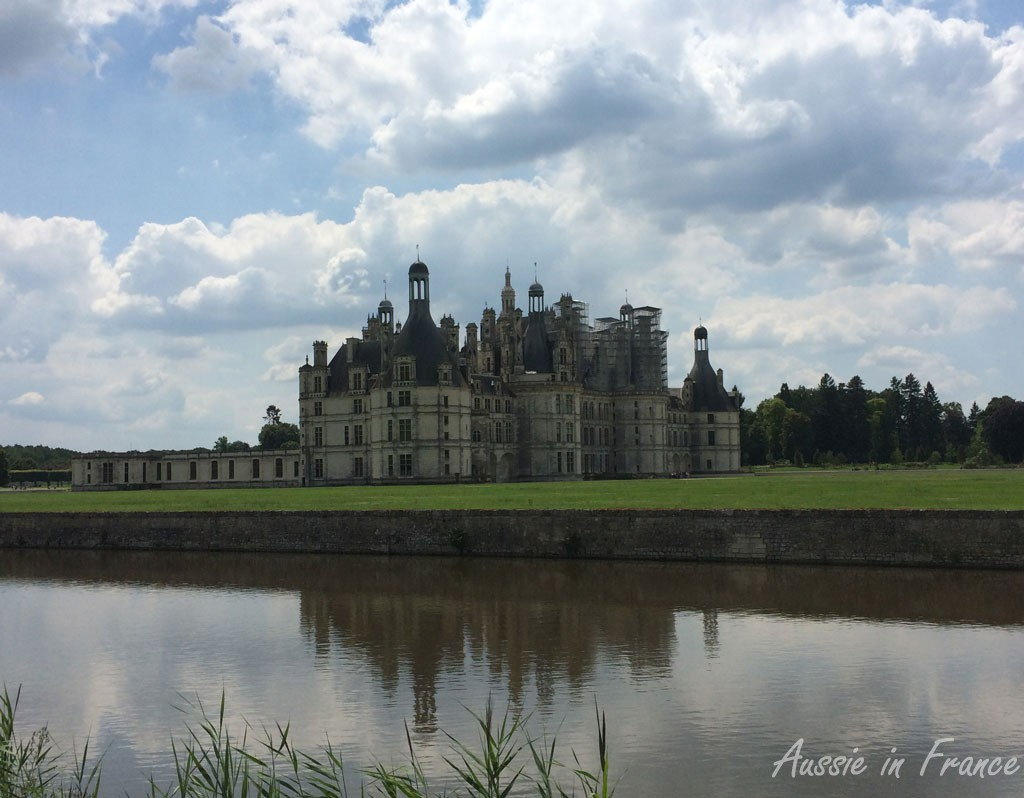 Chambord reflected in the Grand Canal