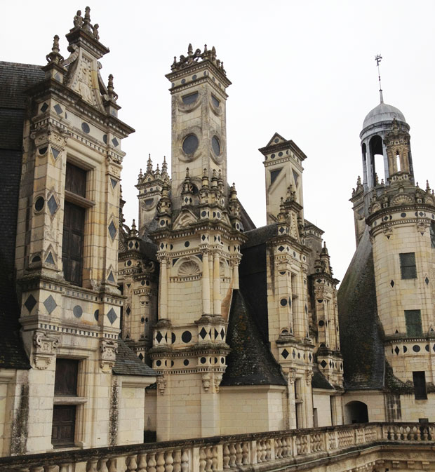 Rooftops of Château de Chambord