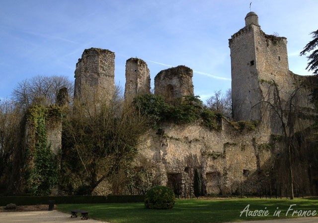The ruins of the 11th century castle